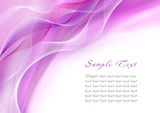Abstract purple wave Stock Photo