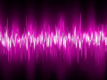 Abstract purple waveform. EPS 8 Royalty Free Stock Image