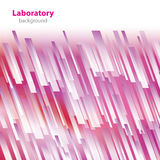 Abstract purple-white laboratory background. Stock Photo