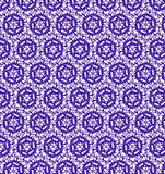 Abstract purple and white shine flower pattern wallpaper Stock Photo