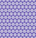 Abstract purple and white shine flower pattern wallpaper Stock Image