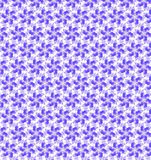 Abstract purple and white shine flower pattern wallpaper Royalty Free Stock Photography
