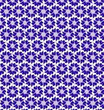 Abstract purple and white shine flower pattern wallpaper Stock Photos