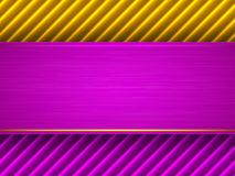 Abstract purple and yellow background Stock Images