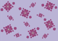 Abstract Purples Pattern Background Banner Stock Photo