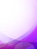 Abstract purpule background Stock Image