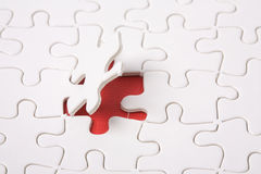 Abstract puzzle Stock Image