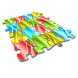 Abstract Puzzle Royalty Free Stock Photography