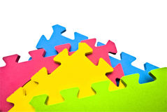 Abstract Puzzle Background Royalty Free Stock Images