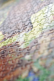 Abstract puzzle background Royalty Free Stock Image