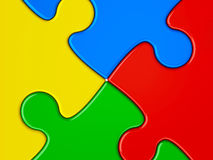 Abstract puzzle background Royalty Free Stock Photography