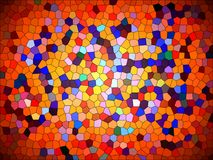 Abstract puzzle background. Colorful splash texture wallpaper. Artwork backgrounds. Beautiful multicolored mosaic Royalty Free Stock Photos