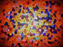 Abstract puzzle background. Colorful splash texture wallpaper. Artwork backgrounds. Beautiful multicolored mosaic Royalty Free Stock Photography