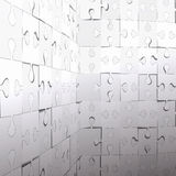 Abstract puzzle background. Stock Photography