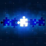Abstract Puzzle Business Concept Background Royalty Free Stock Image