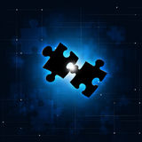 Abstract Puzzle Concept Background Stock Images