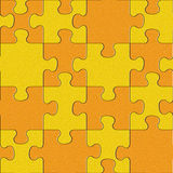 Abstract puzzles pattern - seamless background - citrus texture Stock Photography