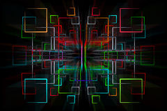 Abstract quader Stock Photos