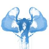 abstract ręka malującą akwarelę zdjęcia royalty free