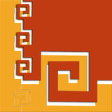 Abstract raadsel Stock Foto