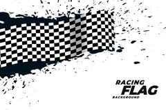 Free Abstract Racing Flag Grunge Background Stock Photography - 183175782