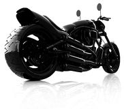 Abstract racing motorcycle concept Royalty Free Stock Image