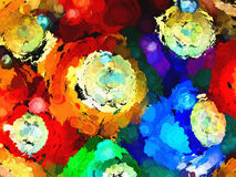 Abstract of Racked Billiard Balls Royalty Free Stock Photo
