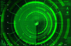 Abstract radar Stock Photo