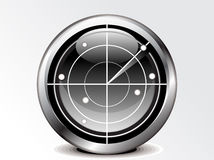 Abstract radar icon Royalty Free Stock Photography