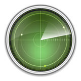 Abstract radar screen Stock Image