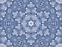 Abstract radiaal patroon van natuurlijke grote paardebloembloem vector illustratie