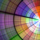Abstract radial background Stock Image