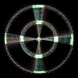 Abstract radial background Royalty Free Stock Photography