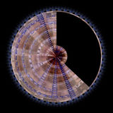 Abstract radial background Royalty Free Stock Photo