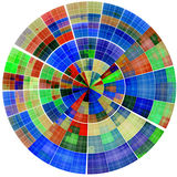 Abstract radial background Royalty Free Stock Images