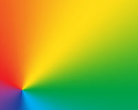 Abstract radial gradient rainbow background Royalty Free Stock Photography