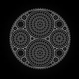 Abstract radial pattern Stock Photos