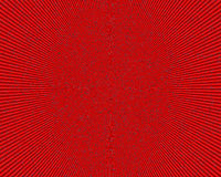 Abstract radial red image, background Stock Photography