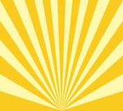 Abstract Radial Sun Burst Background stock illustration