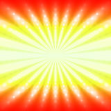 Abstract radiant fiery background. With light ray Royalty Free Stock Image