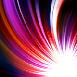 Abstract radiant star Stock Photo