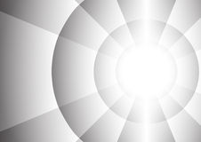 Abstract radius of circle background Stock Photography