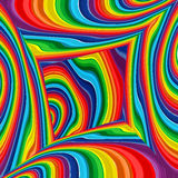Abstract raibow colorful vector background, art multicolor room. Illustration Stock Photo