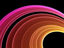 Abstract rainbow. Colorful abstract rainbow - abstract graphic Stock Photography