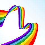 Abstract rainbow Stock Photography