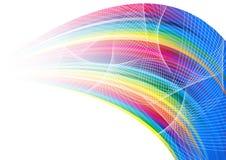 Abstract rainbow arrow banner. Clip-art Stock Photography