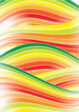 Abstract rainbow background. Vector with gredient mesh Stock Image