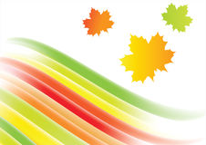 Abstract rainbow background. Vector with gredient mesh Stock Photography