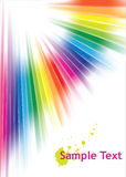 Abstract rainbow background Stock Photo