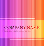Abstract rainbow background. Made from stripes stock illustration